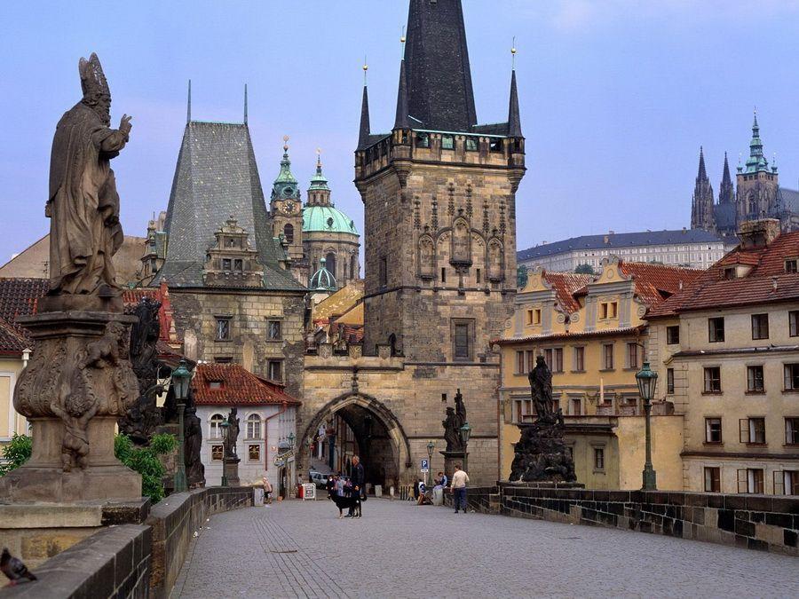 Фотография Карлова моста в Праге