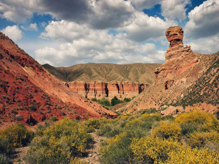 Фото каньона Чарын в Казахстане