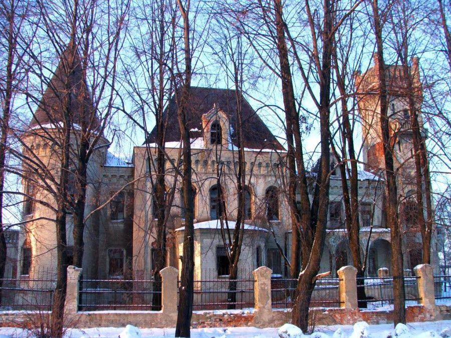 Дворец-усадьба фабриканта Понизовкина Красный Профинтерн фото