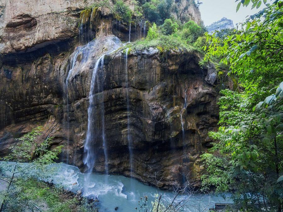 Фотография Чегемских водопадов