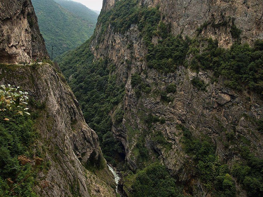 Фотография Черекского ущелья
