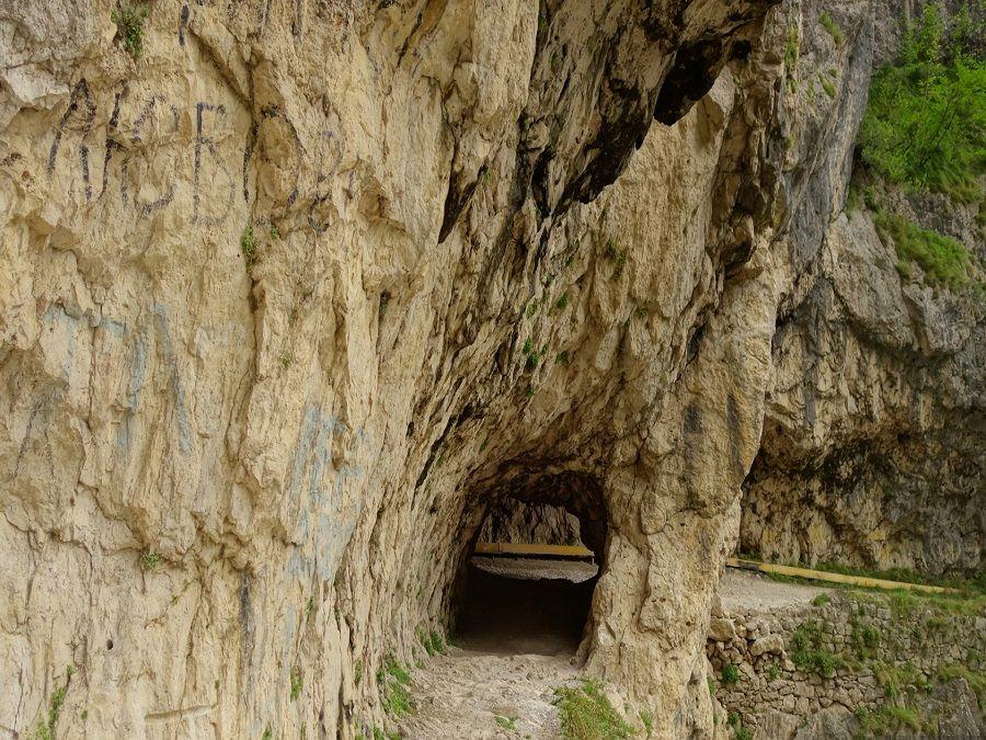 Фотография дороги в Верхнюю Балкарию