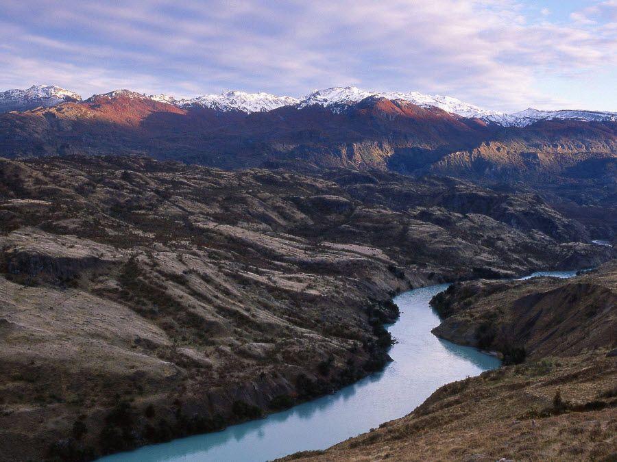 Фото национального парка в Патагонии Чили