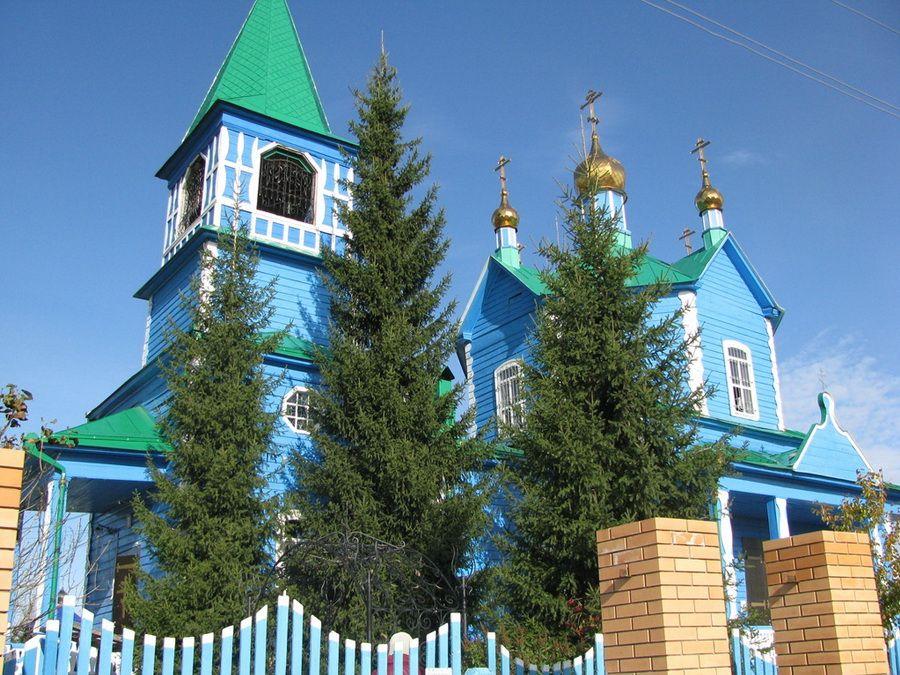 Фотография Чимеевской церкви Явления иконы Казанской Божьей Матери