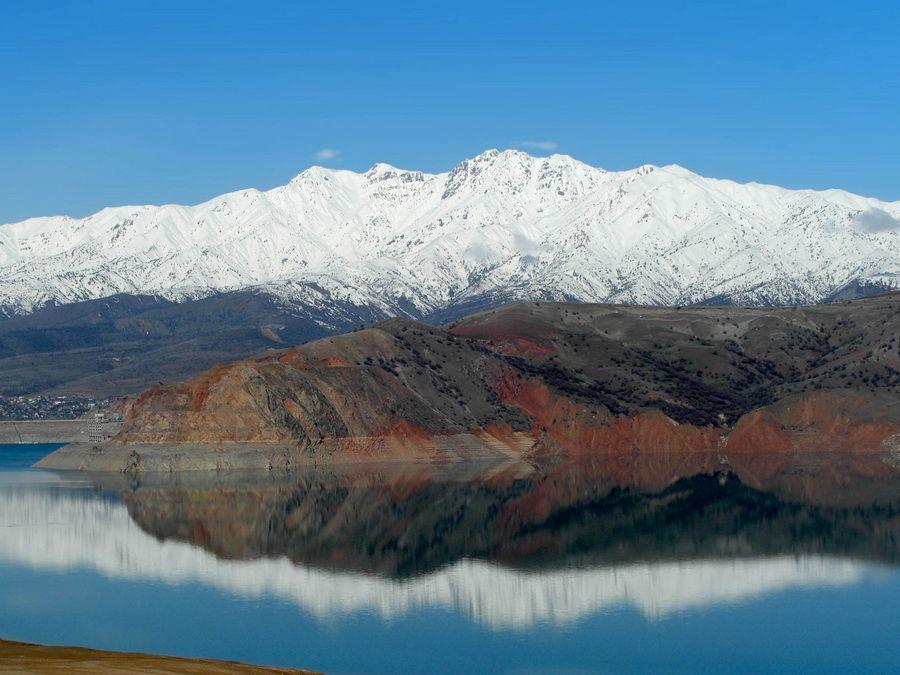 Панорама Большого Чимгана фото