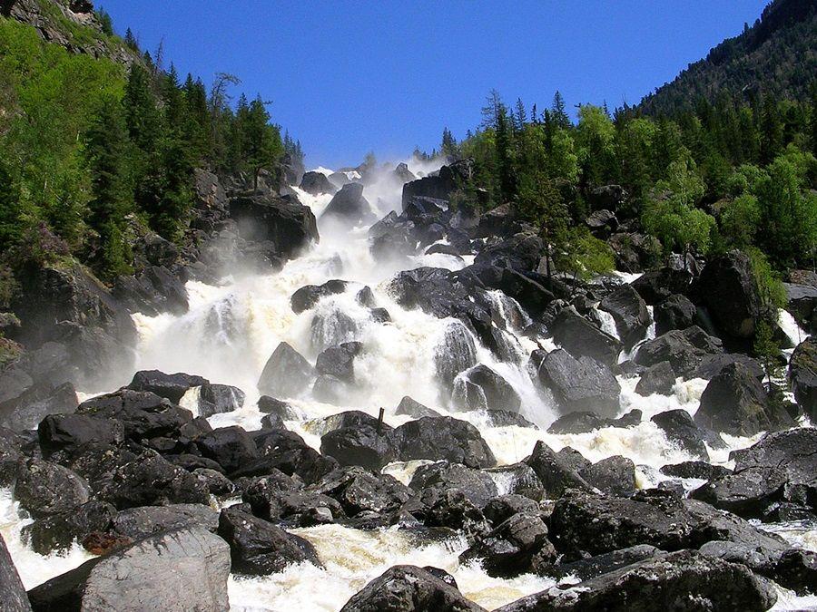 Фотография Большого Чульчинского водопада