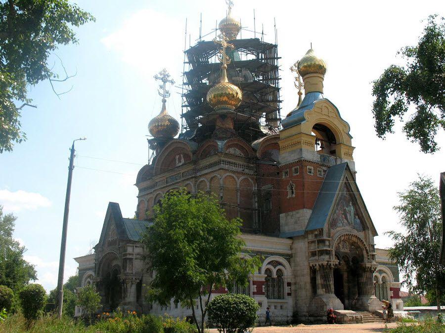 Храм в честь преподобного Сергия Радонежского фото
