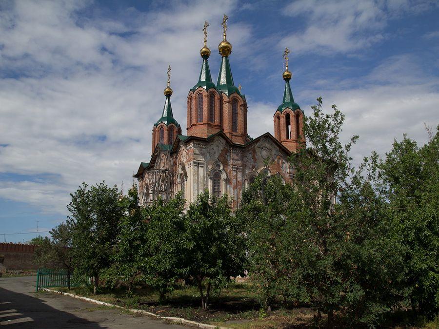 Фото церкви иконы Богоматери Всех скорбящих радость в Далматском монастыре