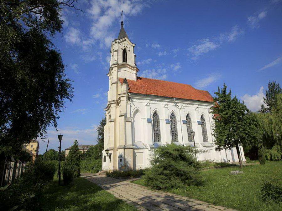 Фотография костела св. Роха в Минске