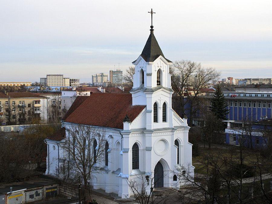 Костел св. Роха фотографии Минска