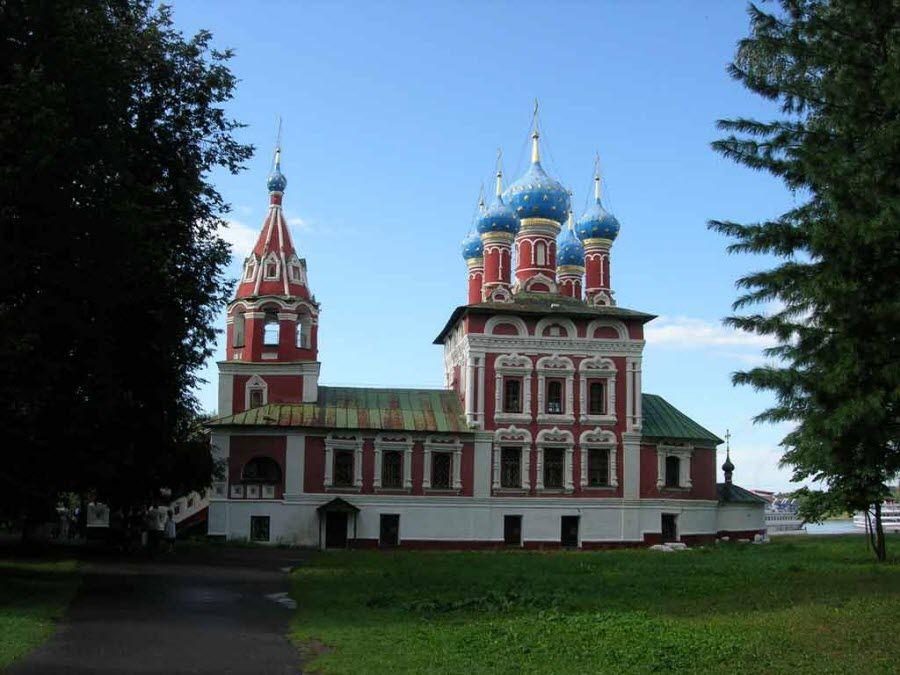Церковь Царевича Димитрия на крови фото