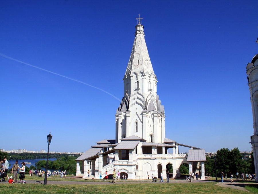 Церковь Вознесения Господня фотография в музее-усадьбе Коломенское