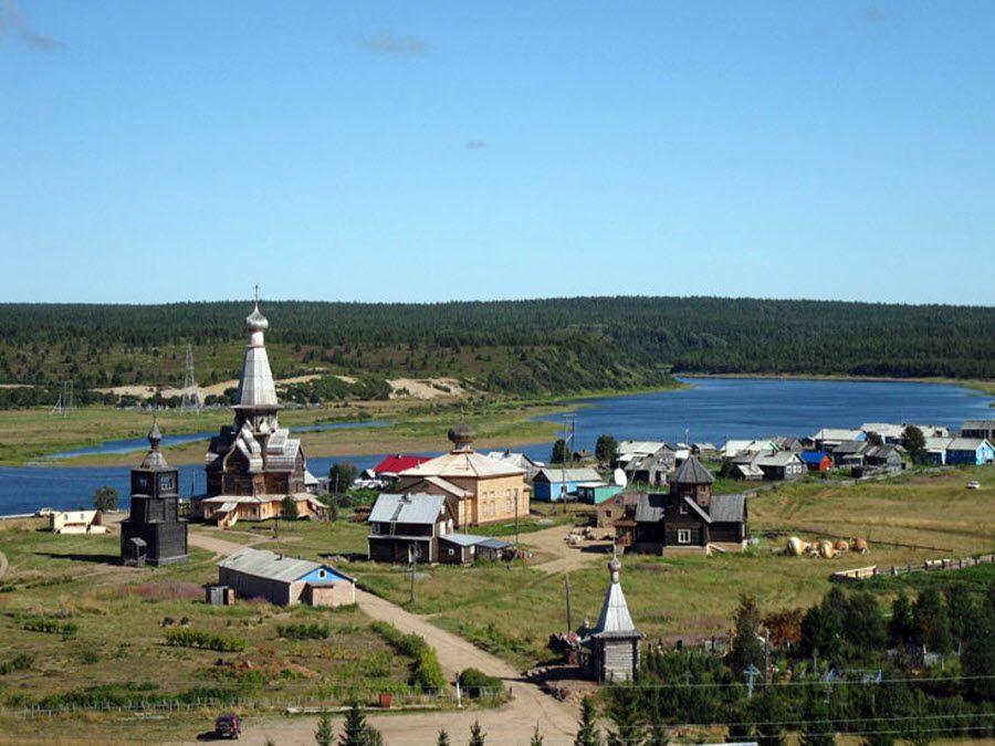 Панорама церкви Успения Пресвятой Богородицы фото