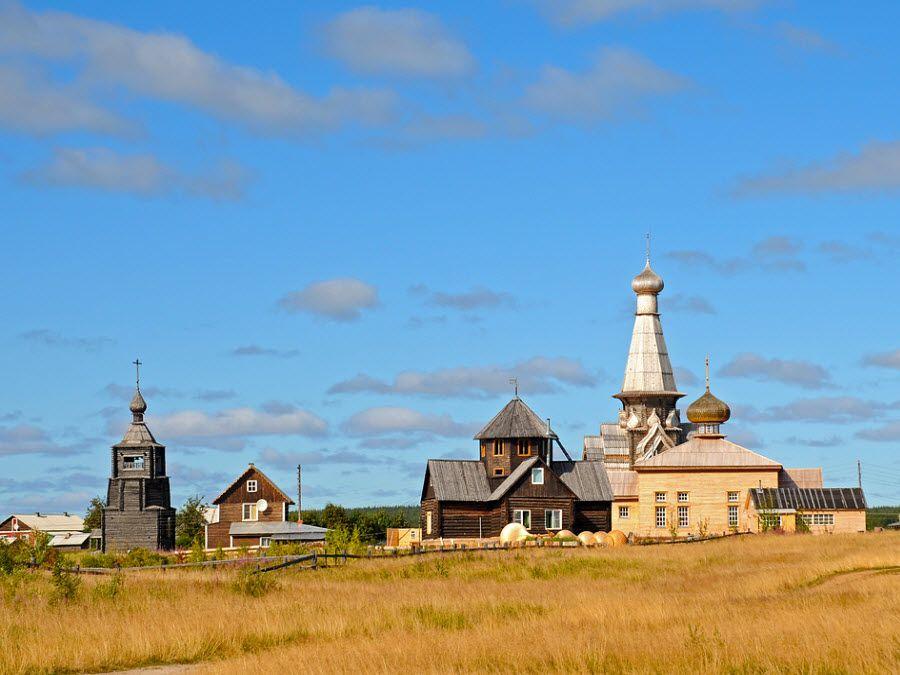 Фото красивой местности церкви Успения Пресвятой Богородицы