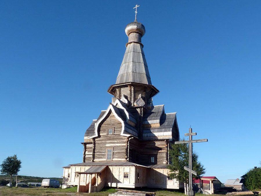 Церковь Успения Пресвятой Богородицы (Варзуга) фото
