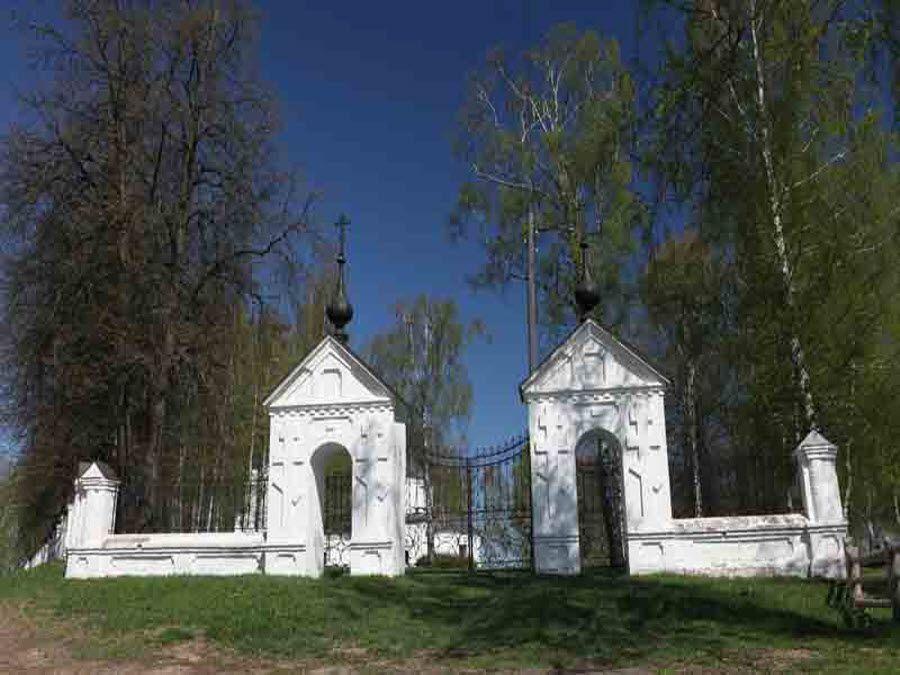 Фото ворот Успенского Собора
