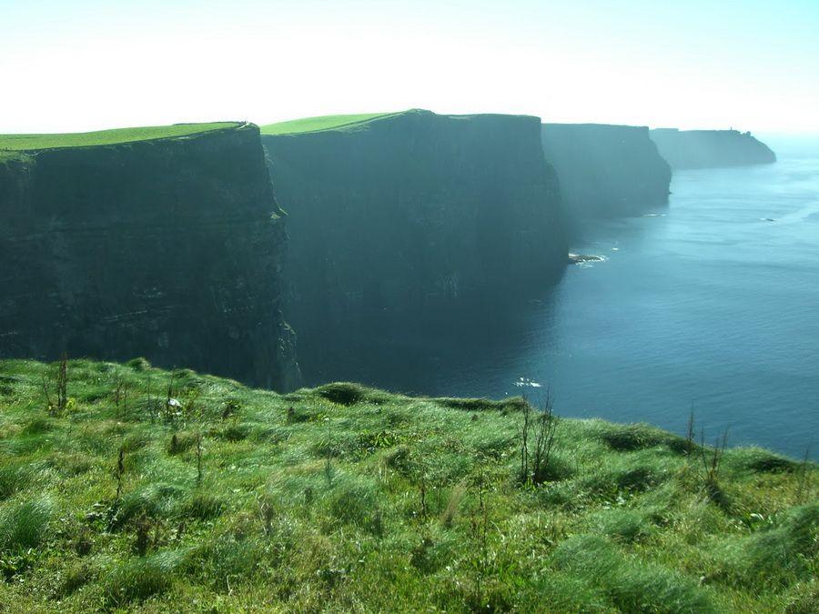 Фото скал Мохер в Ирландии