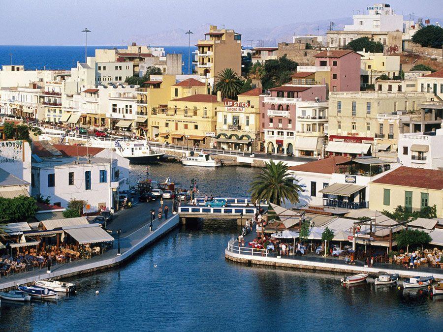 Архитектура острова Крит фотография