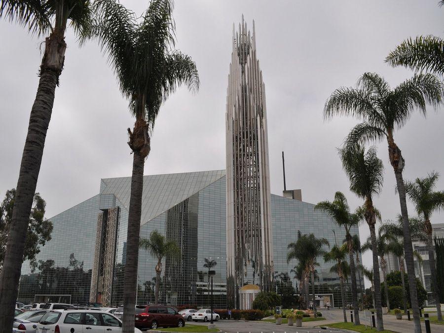 Фотография Хрустального собора в Калифорнии
