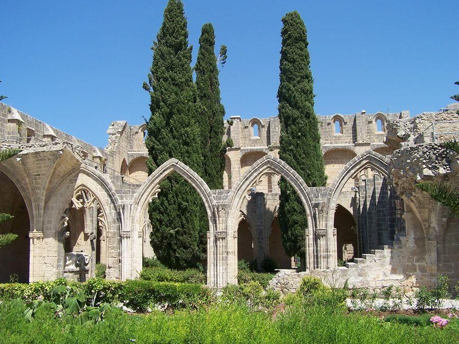 Развалины на Кипре фотография