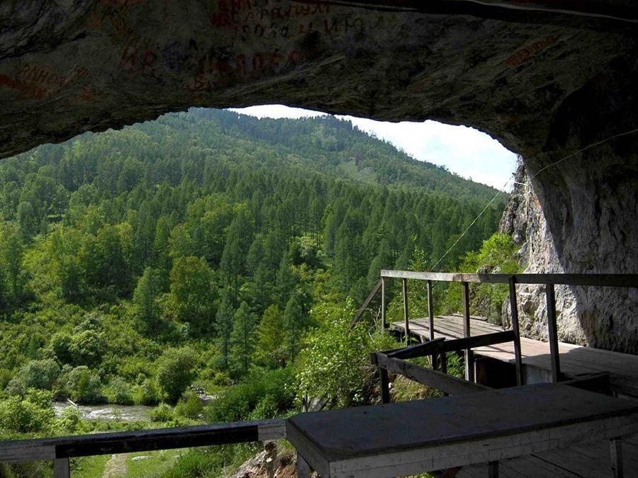Денисова пещера фото Алтая
