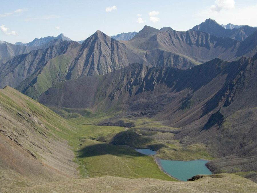 Долина Шумакских источников фото вид сверху