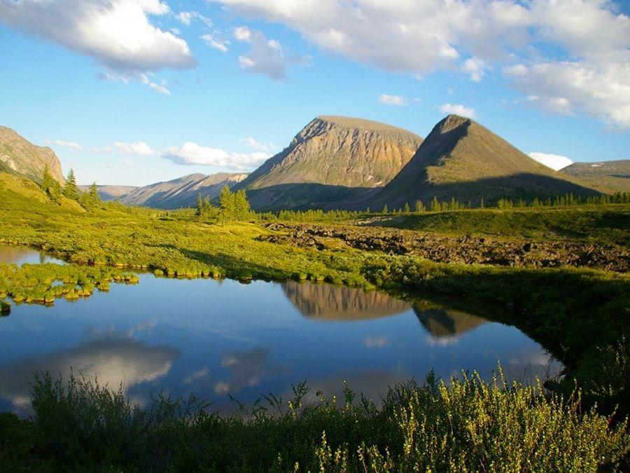 Фотография Долины вулканов на рассвете