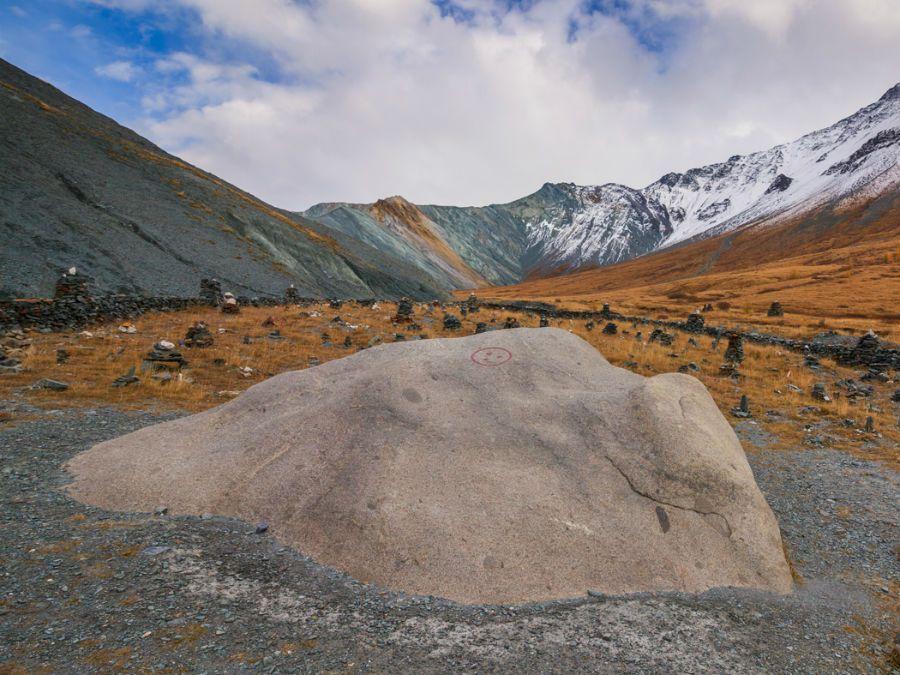 Фотография плато Камня Мудрости в долине Ярлу