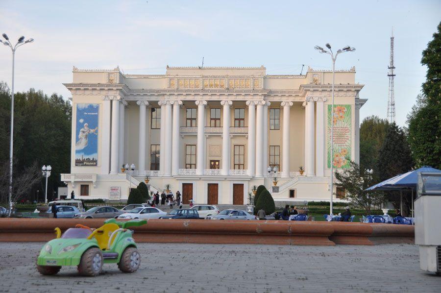 Опера Душанбе фото