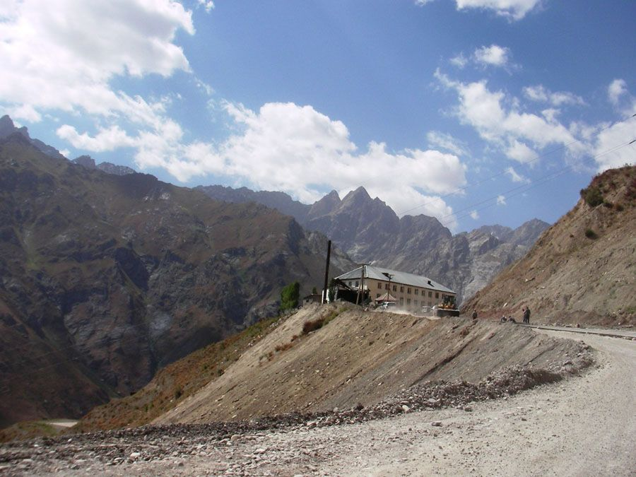 Горы Душанбе фотография