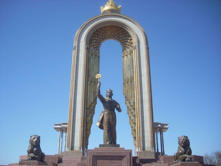 Памятник Исмоилу Соломони, Душанбе