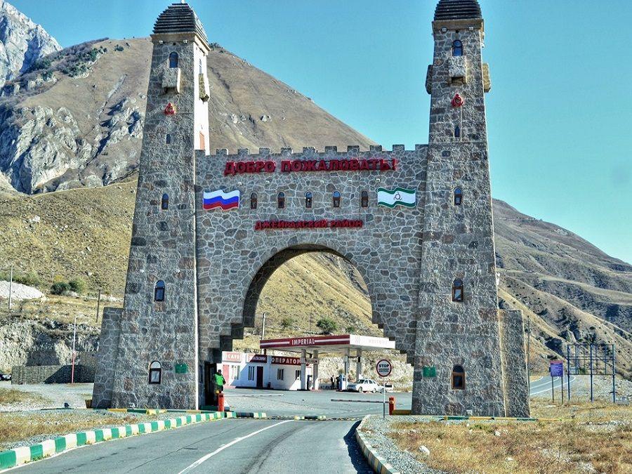 Фотография арки в Джейрахско-ассинском историко-архитектурном музее-заповеднике