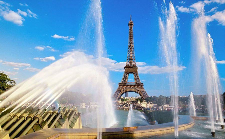 Эйфелева башня фотография