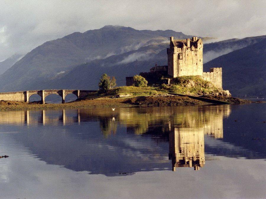 Фото замка Эйлинн Донан в Шотландии