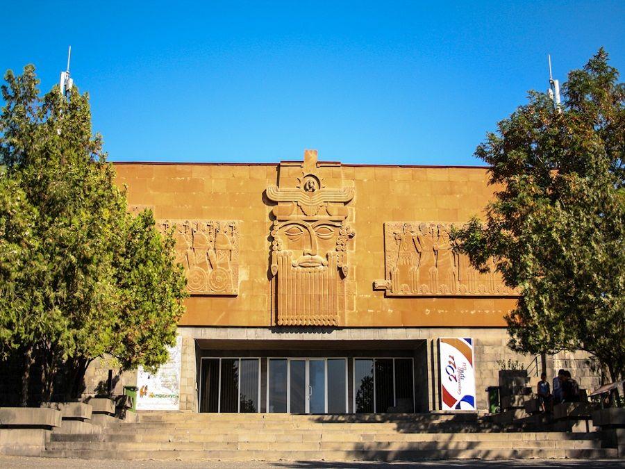 Фотография музея Эребуни в Ереване