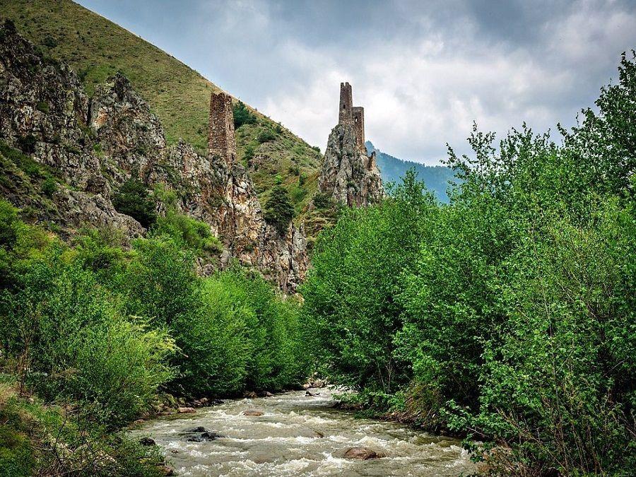 Фотография природного заповедника Эрзи в Ингушетии