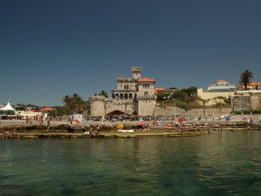 Пляж в Эшториле, фото Португалии