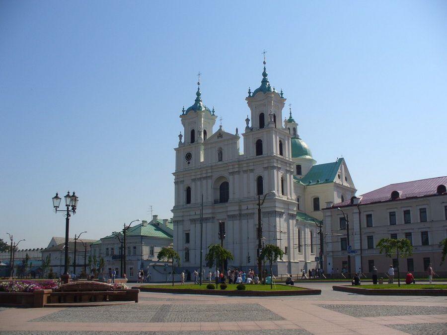 Фотография Фарного костела в Гродно, Беларусь