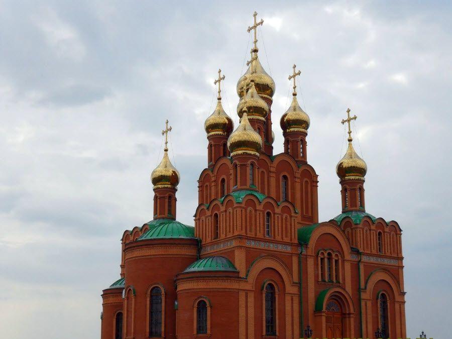 Свято-Успенский собор Ачаирского монастыря фото