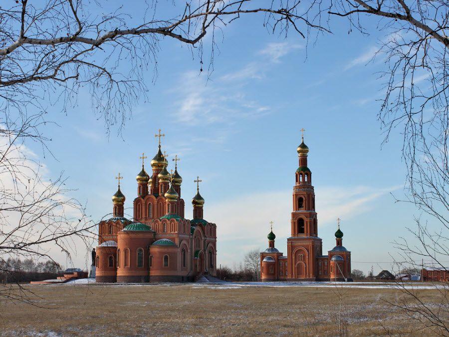 Женский Ачаирский монастырь панорама фото