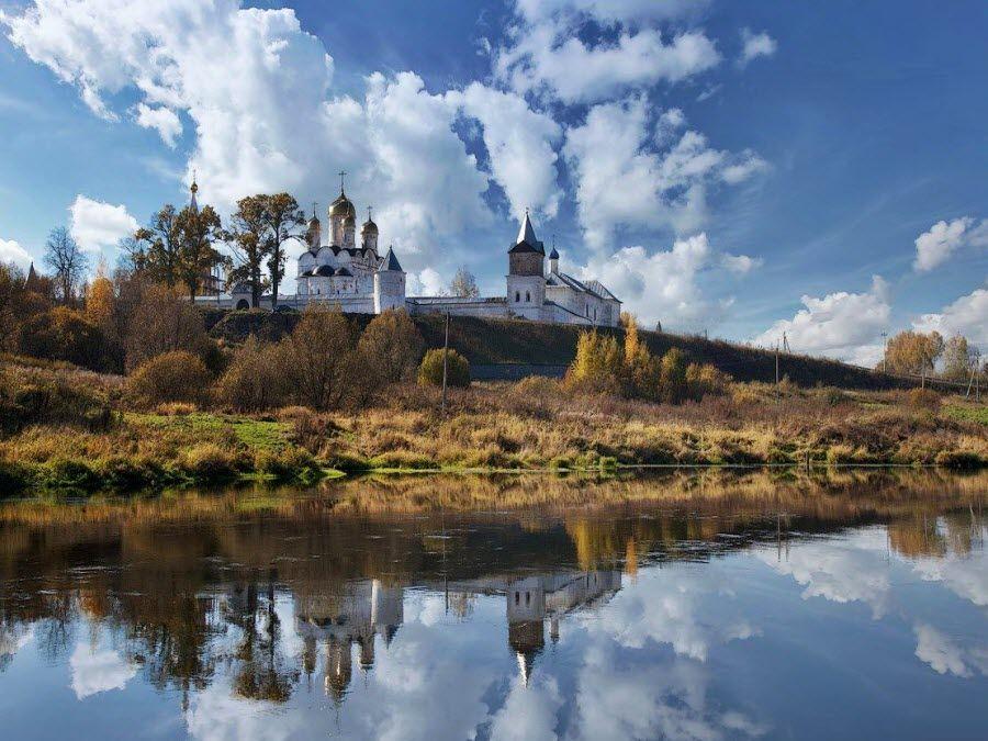 Фото панорама Феропонтова монастыря