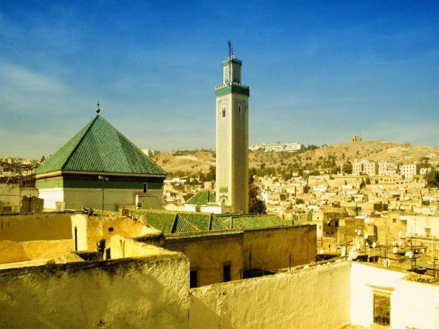 Фото древний город Фес в Марроко