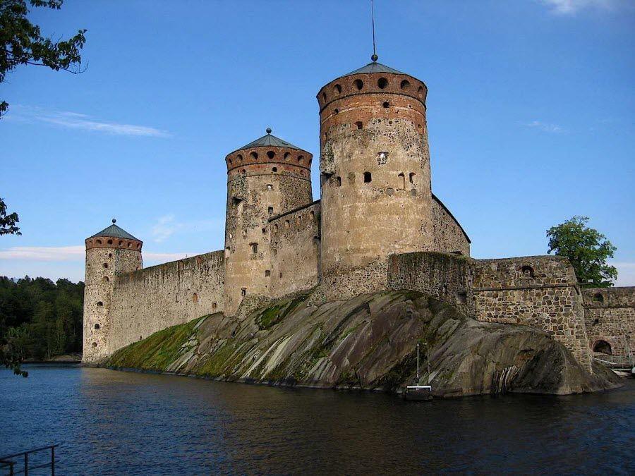 Старинный замок Турку фотография