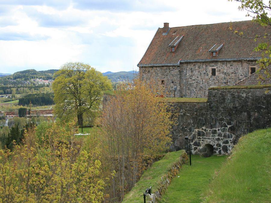 Фотография крепости Конгсвингер в Норвегии