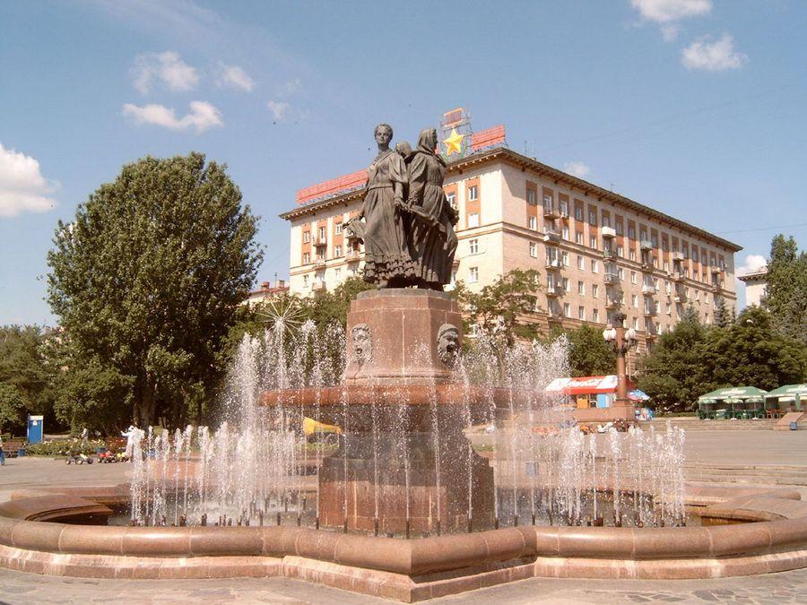 Фотография фонтана Дружбы народов в Волгограде