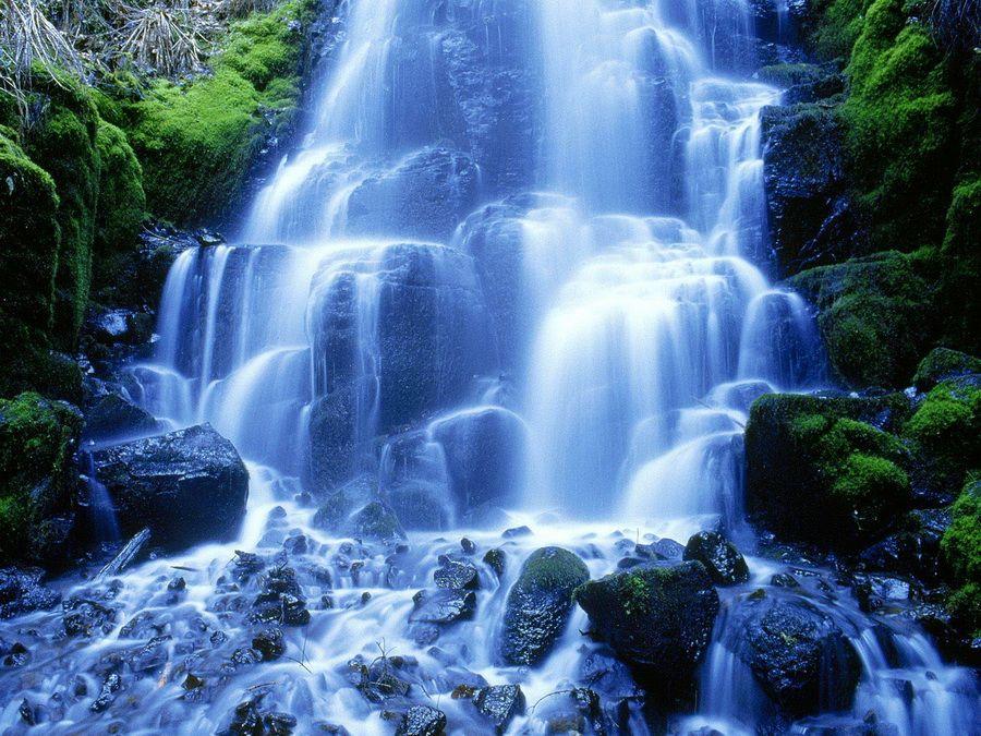 Гегский водопад в Абхазии фото