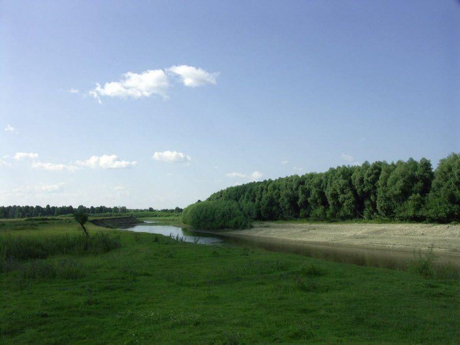Фото удивительной природы урочища Берег Драверта