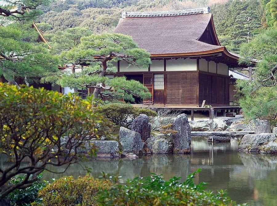 Фото храма Гинкакудзи в Киото
