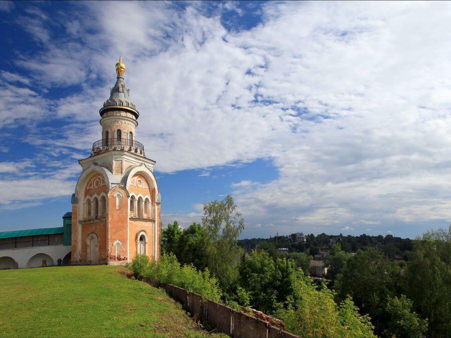 Фото вид с Борисоглебского монастыря