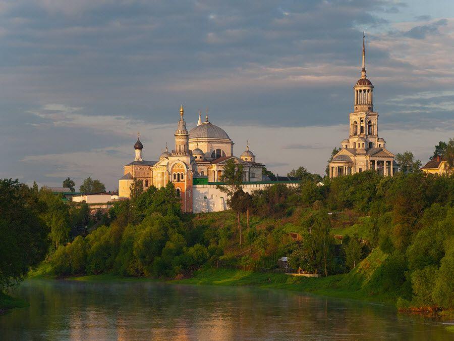 Борисоглебский монастырь в Тверской области фото